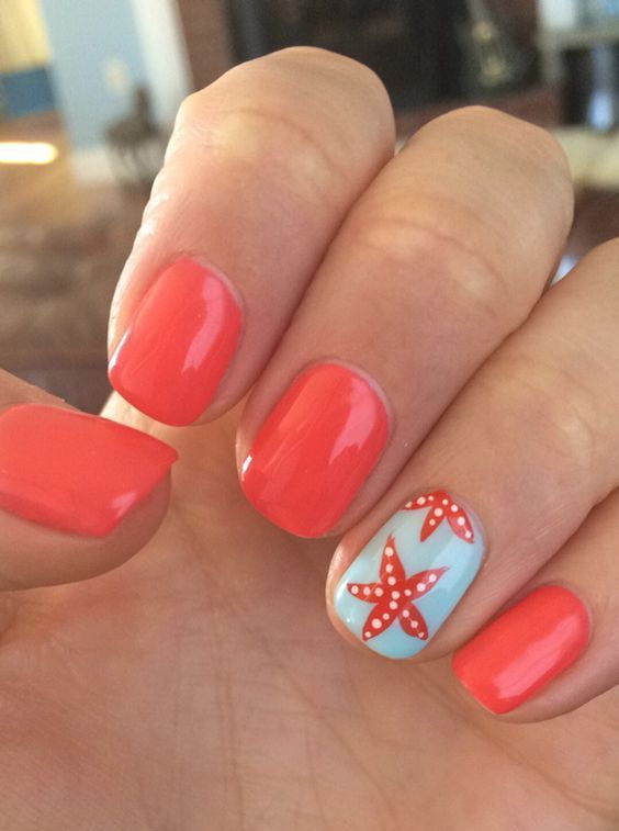 Cool Tropical Nails Designs for Summer #summer #nails # ...