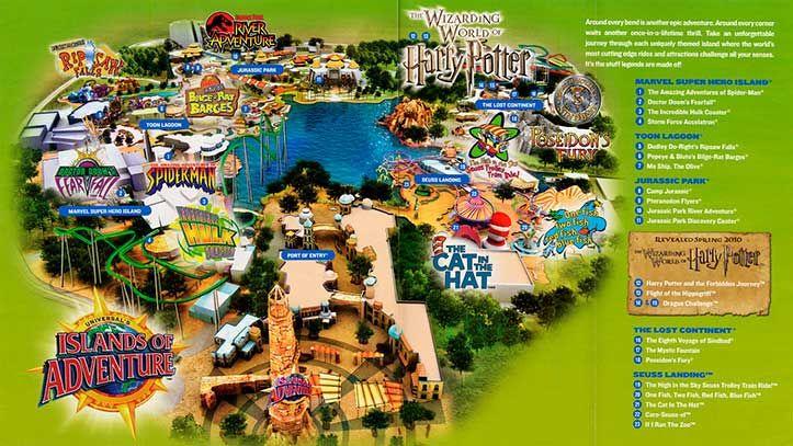 Florida Miami Key West Islands Of Adventure Florida Parks Universal Islands Of Adventure