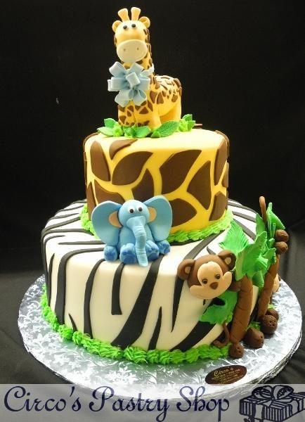 Circou0027s Pastry Shop | Brooklyn Bakery | Fondant Cakes | Bushwick Italian  Bakery | Brooklyn Wedding · Safari Baby ShowersSafari Baby Shower ...