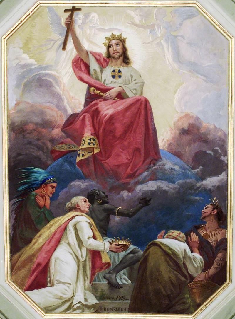 Domeneghini F.-Noris E. (1927), Gesù Cristo Re - 5667626 nel 2020 | Gesù  cristo, Immagini religiose, Cristo
