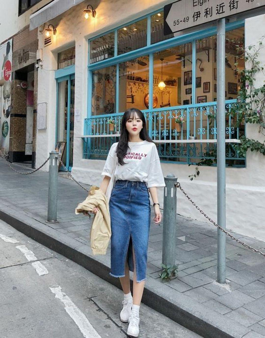 6 Beautiful Korean Girl OOTD Styles That Make Hangouts More