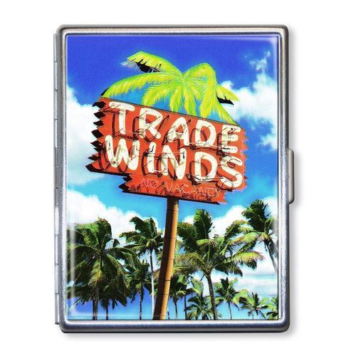 Trade Winds Motel ID Case Business Card Holder Wallet