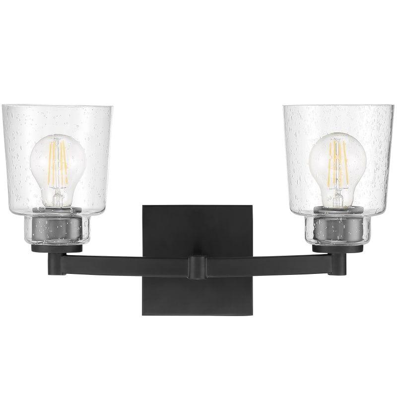 Photo of Miseno ML5745VL 2 Light 17″ Wide Bathroom Vanity Light Matte Black Indoor Lighting Bathroom Fixtures Vanity Light