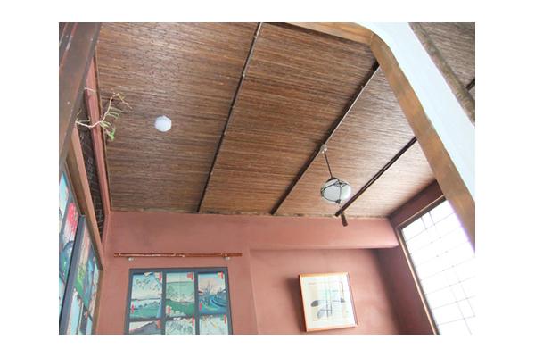 葭 よし ボード 葭網代 竹の天井 和室 天井