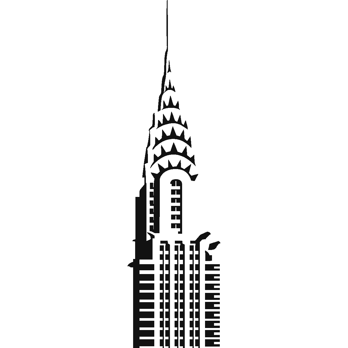 chrysler building drawing - Google Search | New york ...