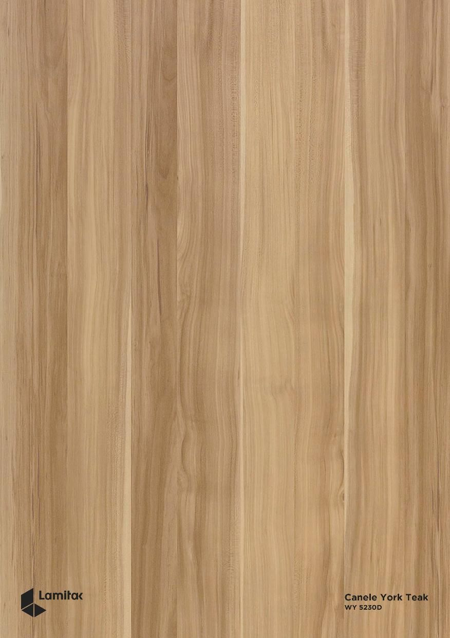LAMITAK WY5230D Canele York Teak - Colour for Feature Wall Paneling ...