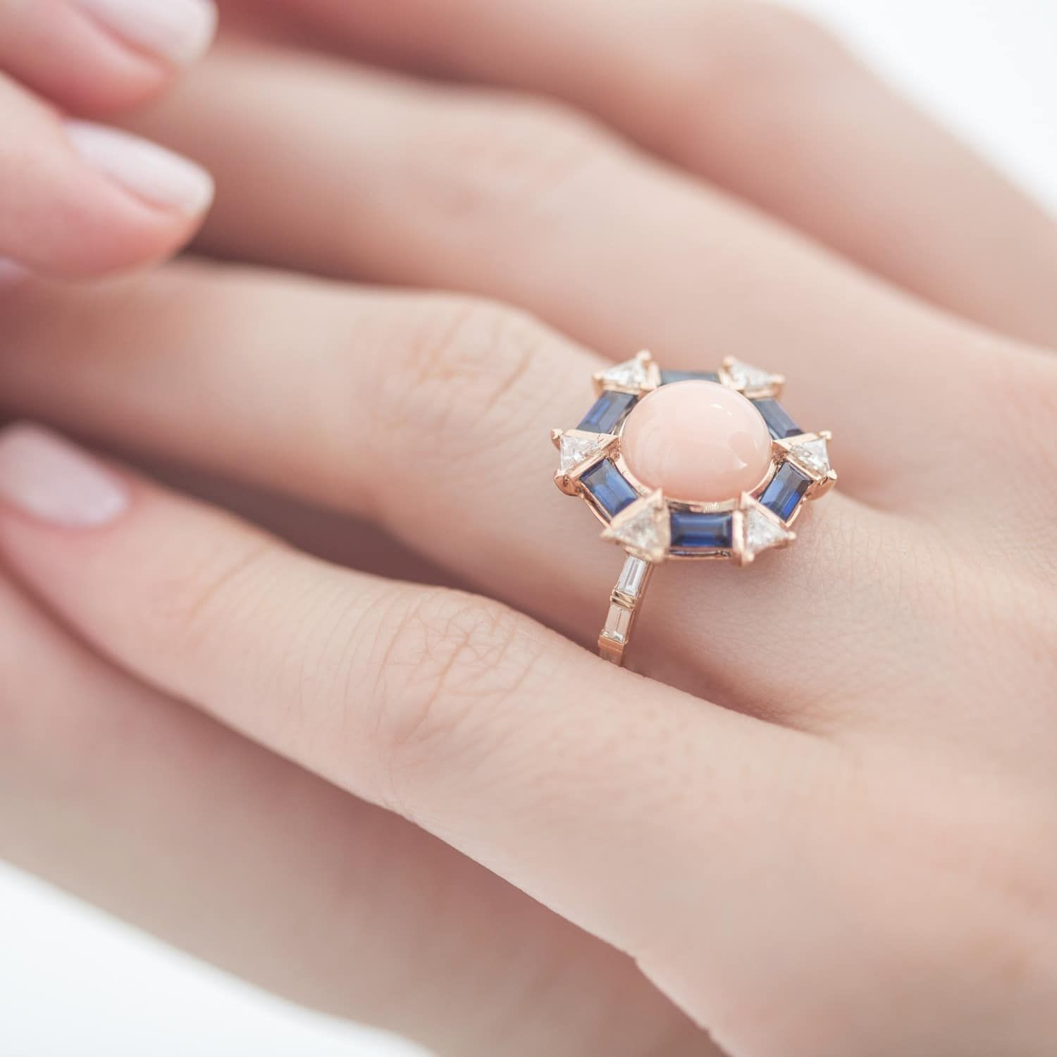 The Vintage Coral Ring | Coral ring, Ring and Razzle dazzle
