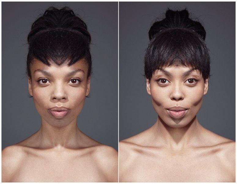 Not My Best Side Perfectly Symmetrical Face Portrait Face Symmetry