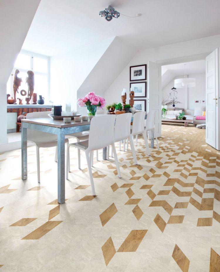 Sechseck Fliesen Boden Wohnzimmer Skandinavisch Wohnen Ideen Vinylboden Graue Bodenfliesen Kuche Produktdesign