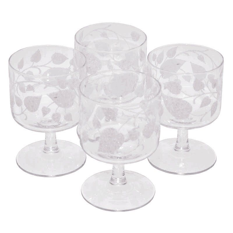 Beautiful Home Bar Glass Set