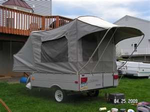 Coleman Colorado Tiny Popup Camper Camping Tent Campers
