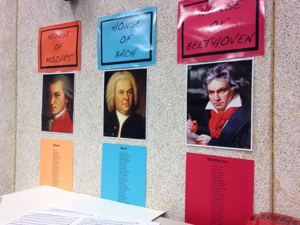 """Photo of Harry Potter style classroom management- love it! Each kid is assigned to a """"hou…"""