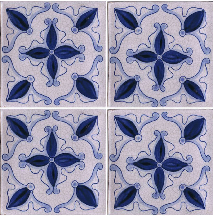 blue and white hand painted tile perfect for a bathroom wall this style of hand painted blue and white tiles adds a classic touch to any style kitchen