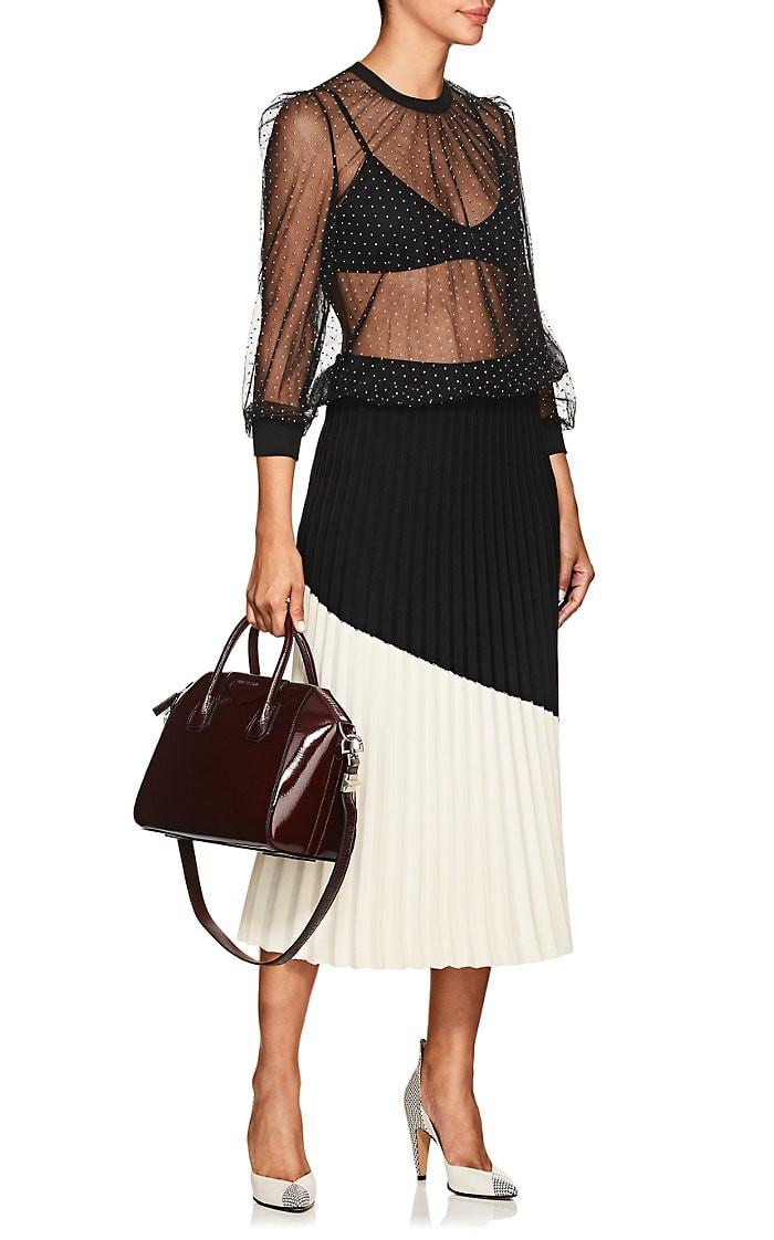 Givenchy Antigona Small Patent Leather Duffel Bag - Purple 1 Sz 44439883dc99f
