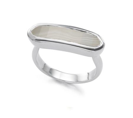 Baja Ring - Grey Agate - Monica Vinader
