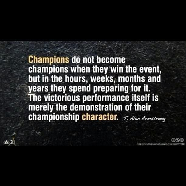 Basketball Championship Quotes: Champions Don't Always Win...but They Strive To Every Day