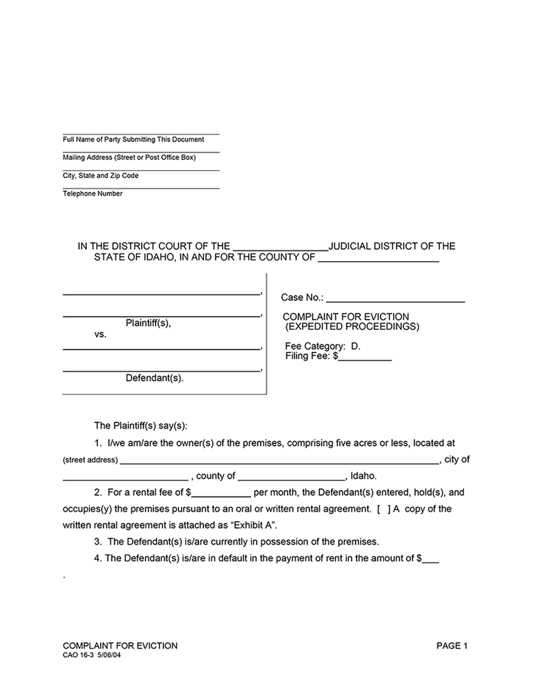 Day Notice Of Eviction Images  Eviction Form  Legal Documents