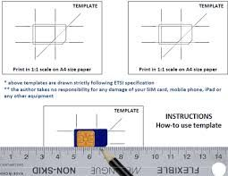 Image Result For How To Make Micro Sim From Normal Sim Card Pdf
