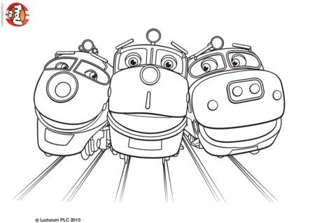 Pingl par lmi kids disney sur chuggington coloriage et - Chuggington dessin anime ...