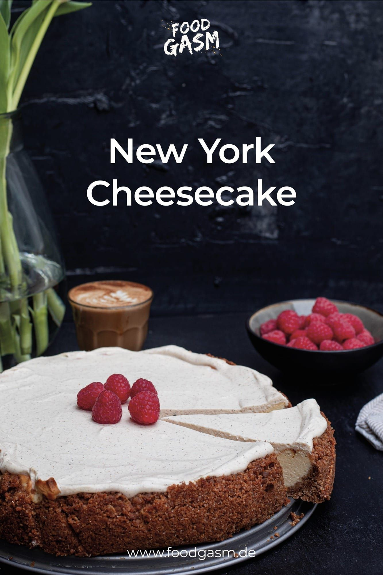 Das leckerste New York Cheesecake Rezept!