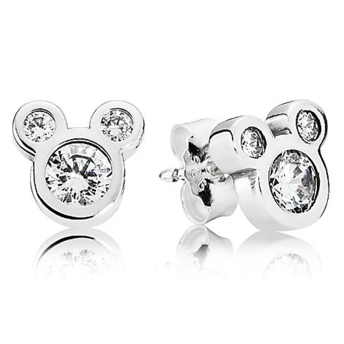d9ab81e29acc0 Dazzling Mickey in 2019 | Latest Pandora Charms | Pandora earrings ...