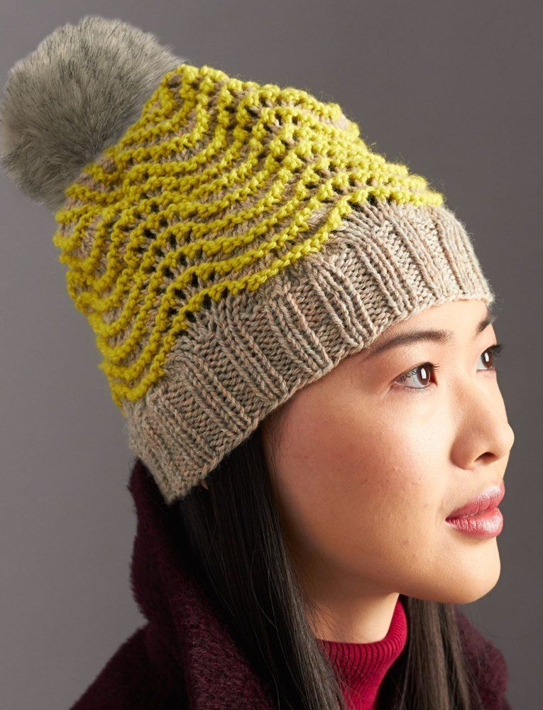 Ripple Hat in Patons Classic Wool Worsted. Discover more Patterns by ...