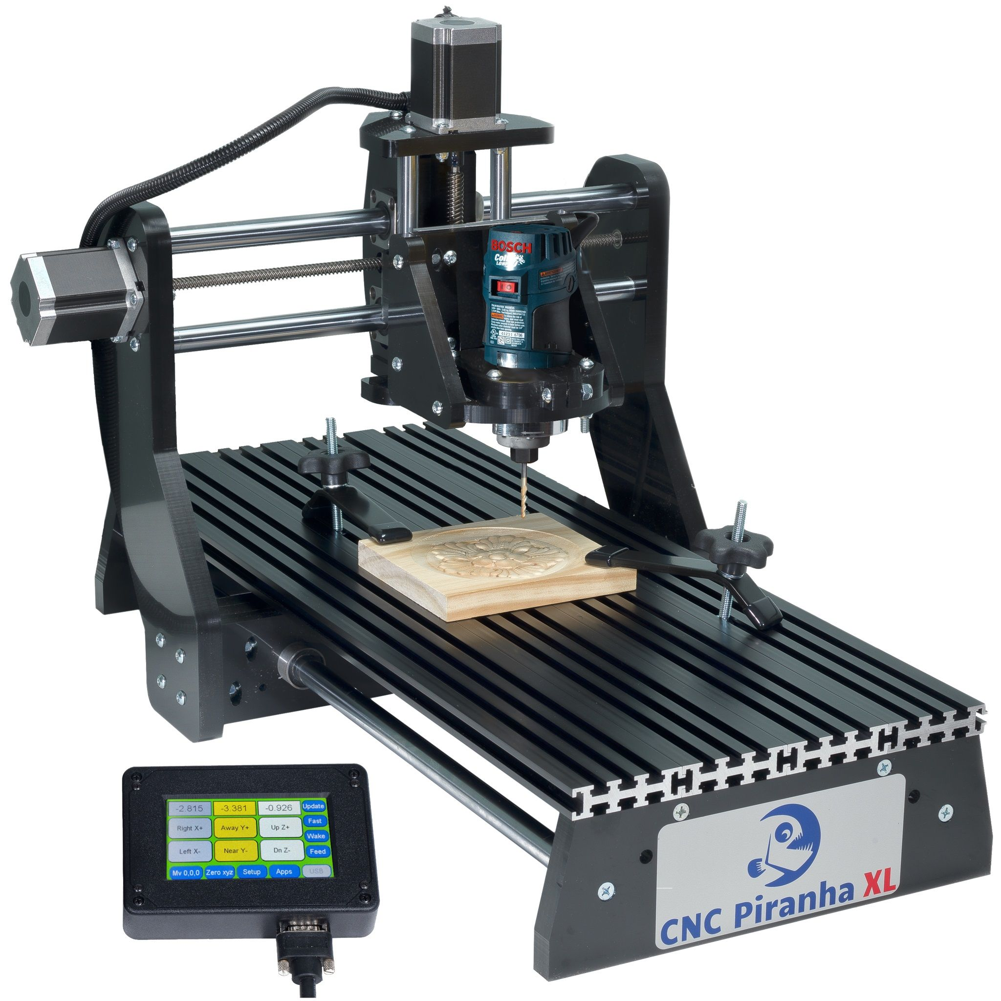 CNC Piranha XL Master Set by Next Wave Automation in 2019