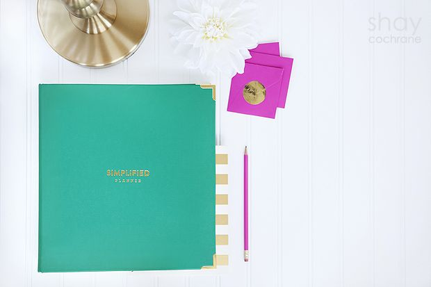 Emily Ley Simplified Planner @Emily Ley Commercial Photography