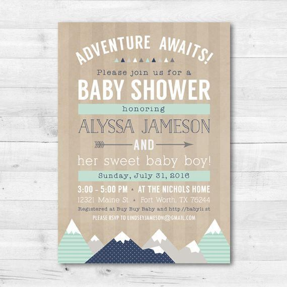 Adventure Awaits Baby Shower Invitation Baby By Kimberlyjdesign Adventure Baby Shower Invitations Adventure Baby Shower Adventure Awaits Baby Shower