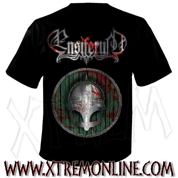Camiseta de manga corta de Ensiferum - Blood is the price of glory. Camisetas viking metal. Camisetas de grupos heavy metal. Folk metal. Merchandising oficial de grupos.
