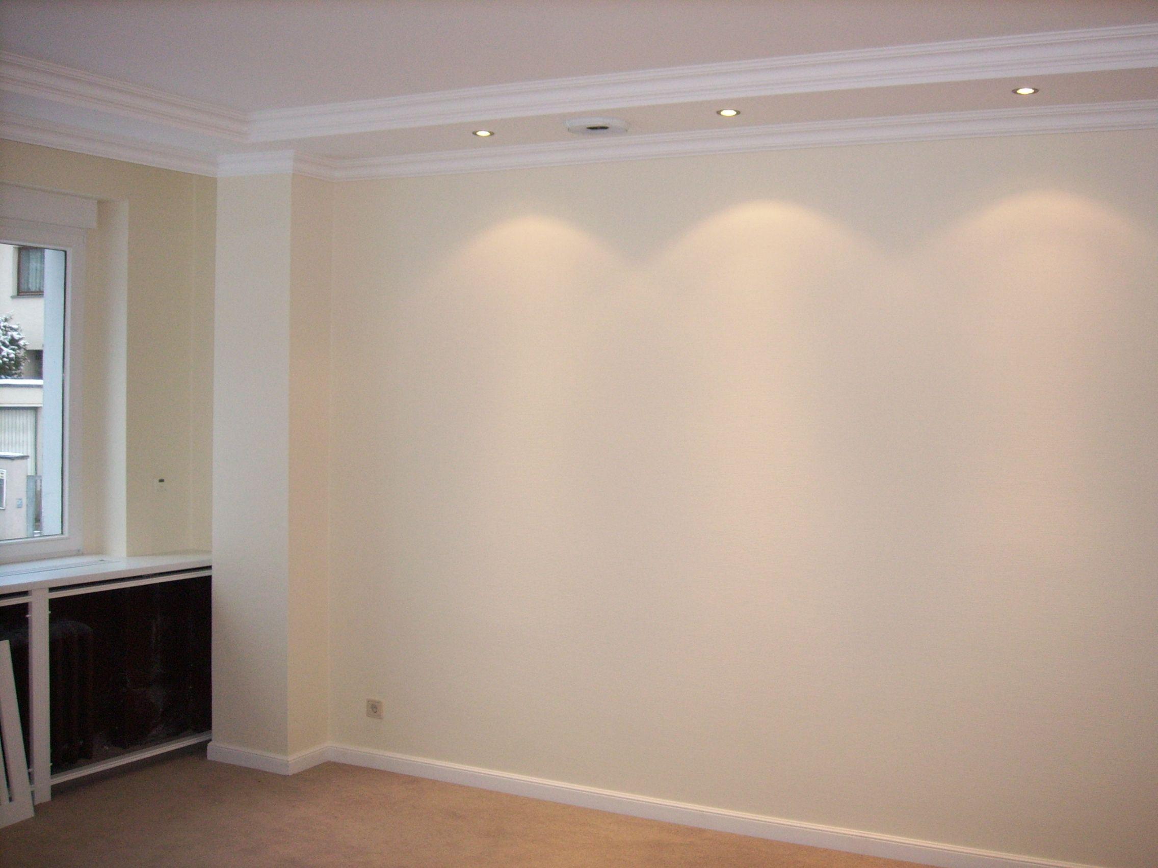Beleuchtung und Lautsprecher direkt in die Decke integriert ...