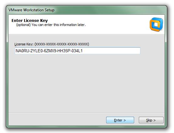 vmware workstation 10 key