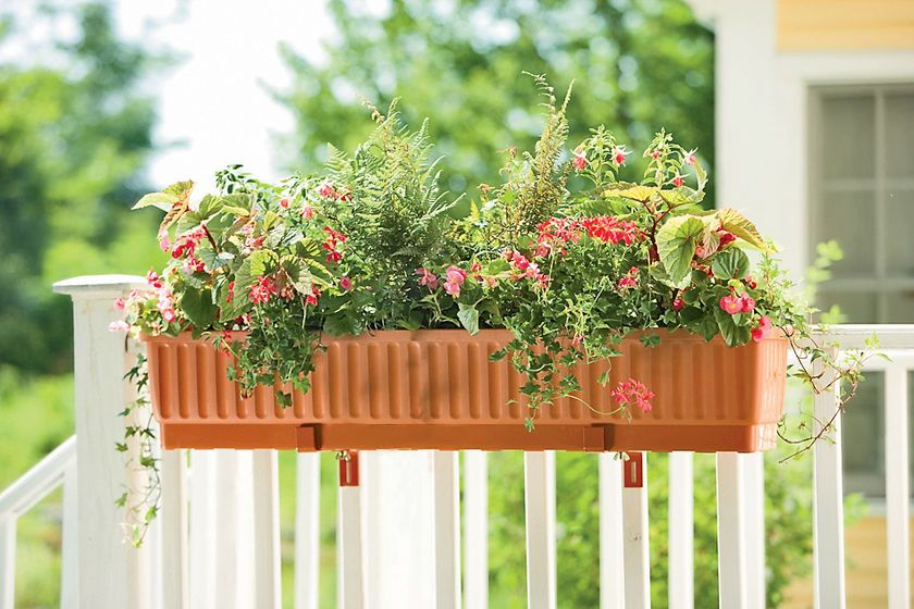 Window Boxes Self Watering Planters 39 Inches Self Watering