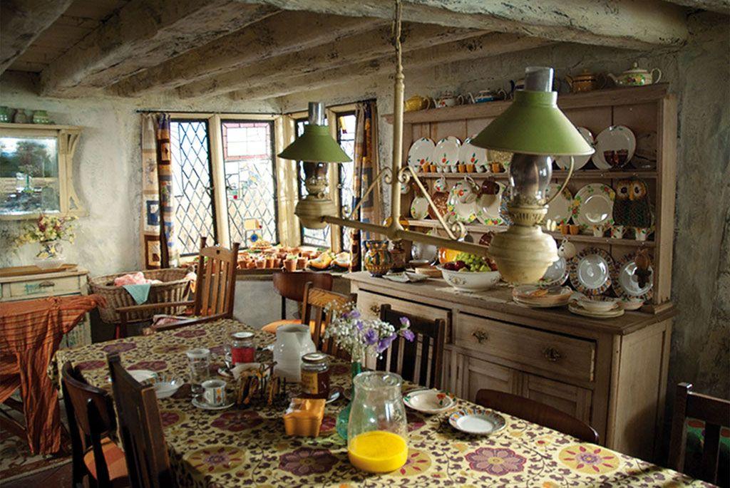 Shell Cottage Harry Potter Kitchen Harry Potter Set Country Kitchen
