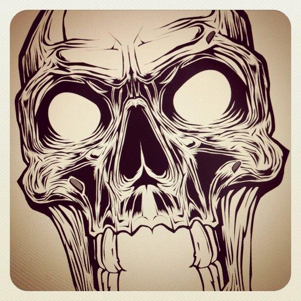 Skull by Hydro74