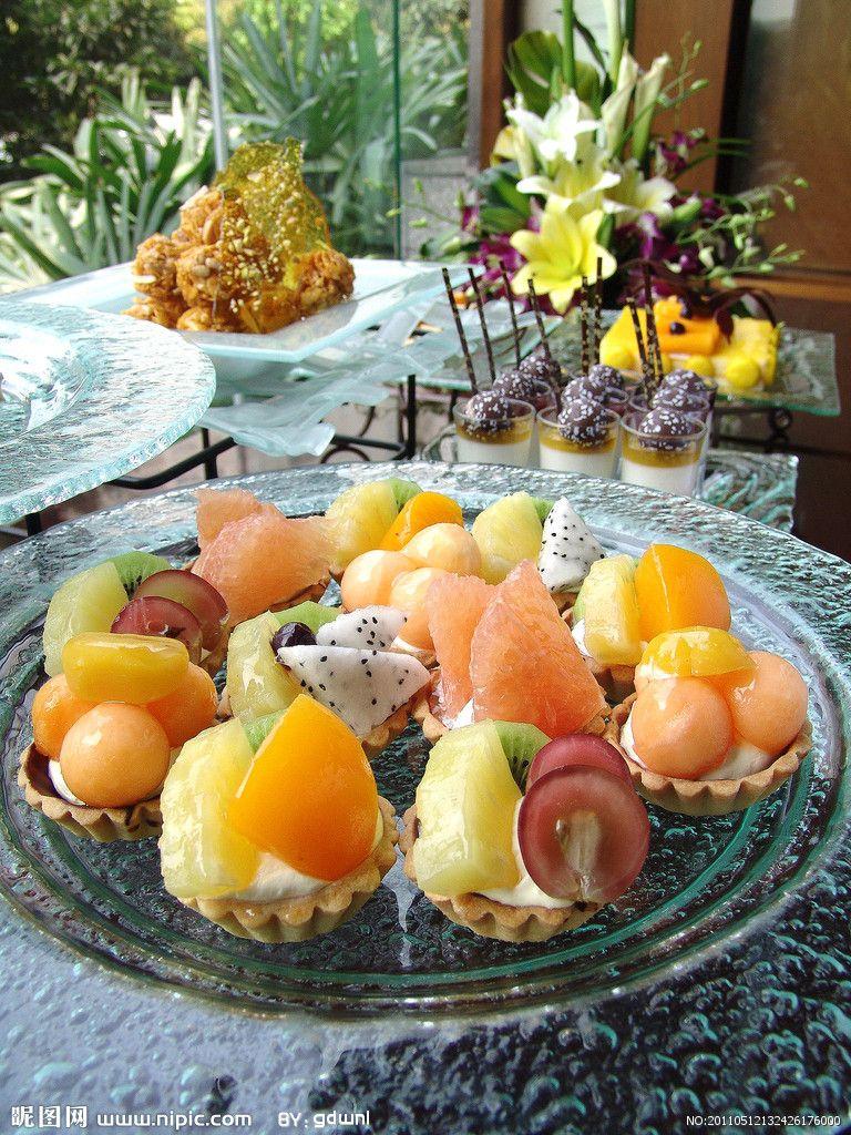 Chinese fruit egg tarts easy desserts chinese dessert