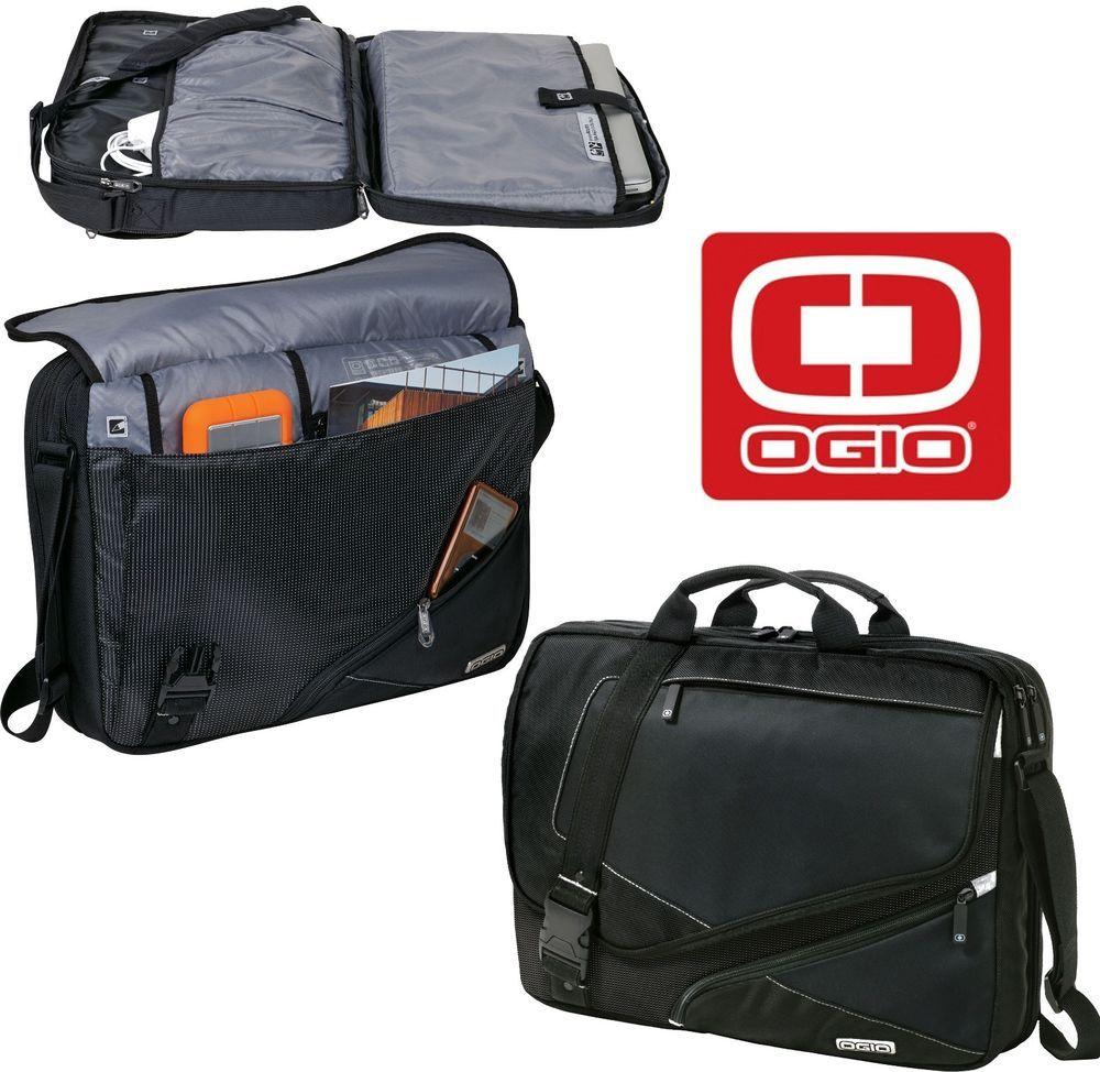 New Tsa Friendly Ogio Voyager 17 Laptop Macbook Pro Messenger Bag 117023