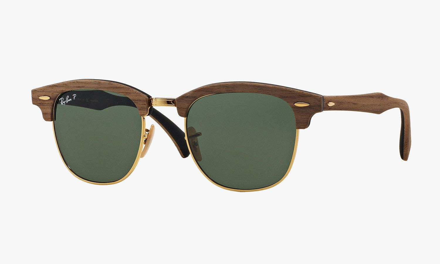 Ray Ban Woodgrain Clubmaster Sunglasses 2015 • Selectism  f43c9217145d