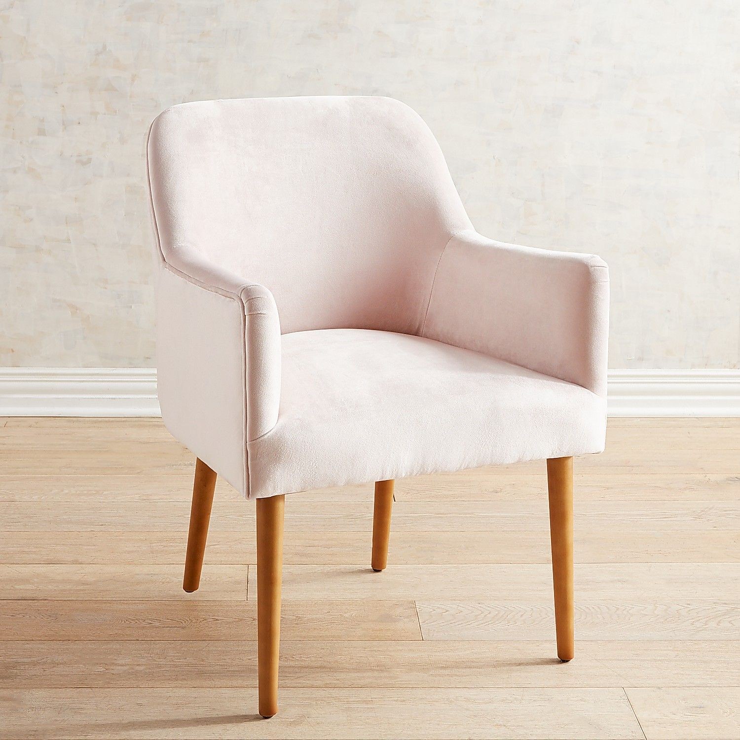 Markus Blush Pink Velvet Dining Chair Diningroomideas In 2019
