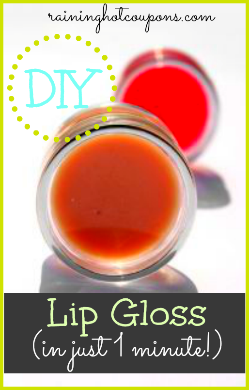 diy lip gloss in just 1 minute lippenbalsam diy. Black Bedroom Furniture Sets. Home Design Ideas
