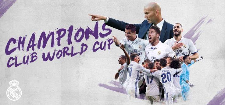 Fifa Club World Cup Winners 2017 Real Madrid Club World Cup Real Madrid World Cup Champions