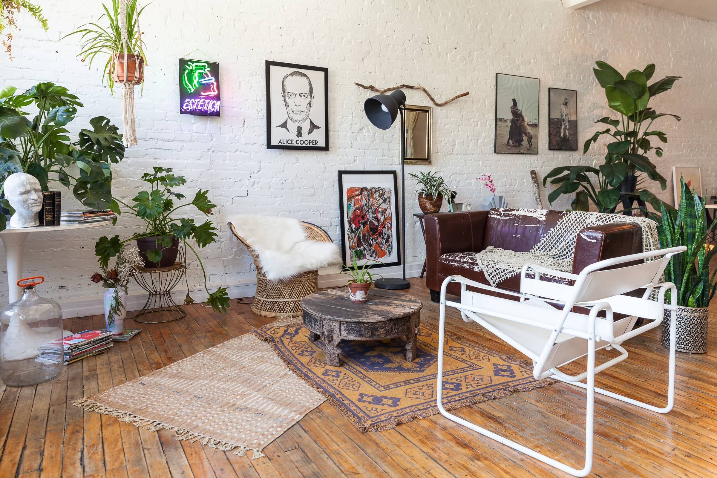 A Bohemian Montreal Loft of Two French Designers   Bedroom ...
