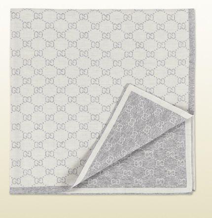 Mini Gg Pattern Wool Baby Blanket Things I Love Wool