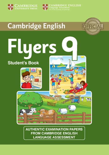 Download Cambridge: TESTS for Flyers 1-9 | Book pdf + Scans + Key +
