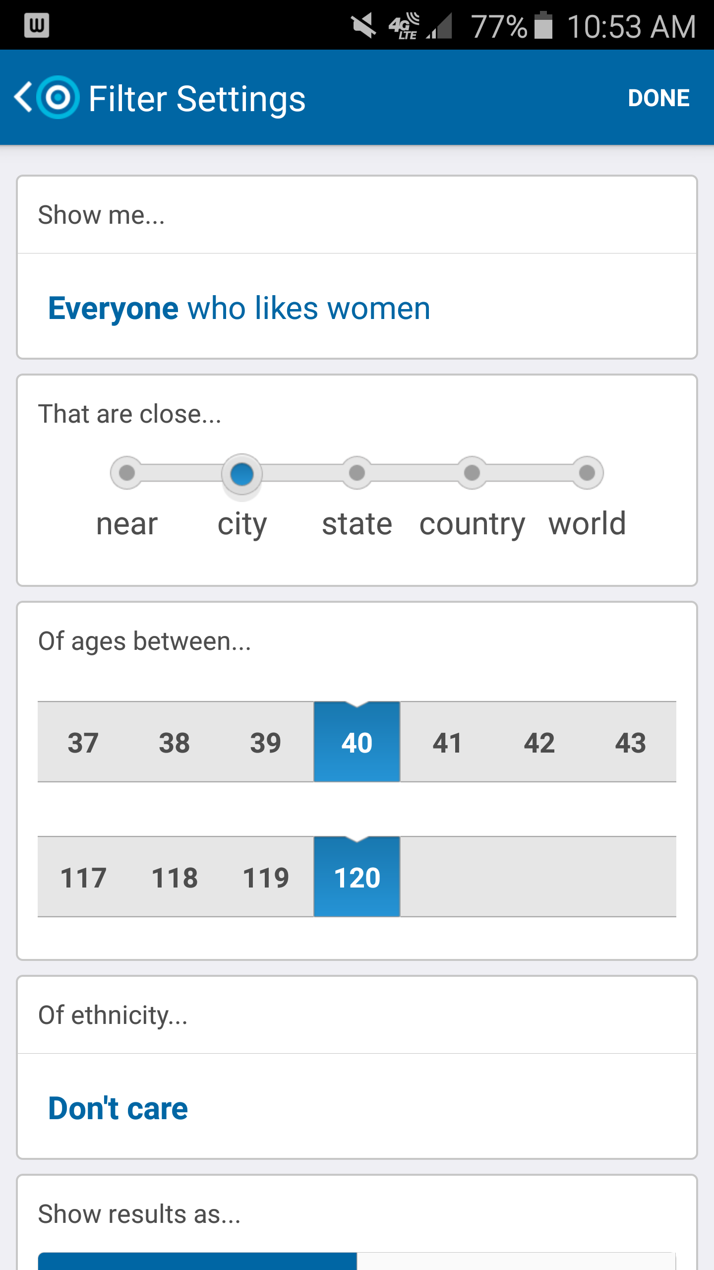 How to Change Your Skout Search | Skout, You changed, City