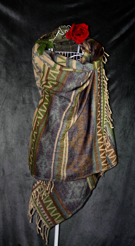 Kalima Schal handgewebt aus Yak Wolle warum den Mantel nicht
