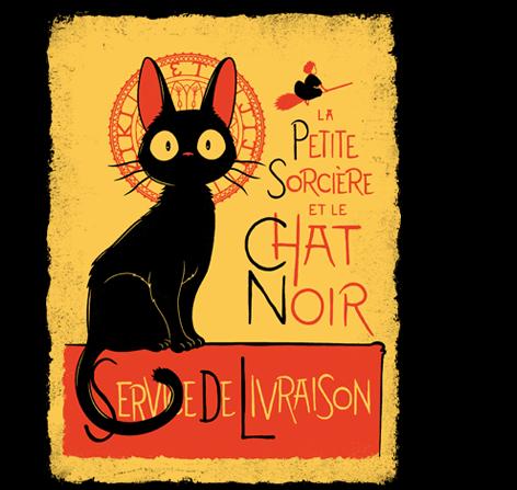 Service De Livraison T Shirt The Shirt List Studio Ghibli Black Cat Art Ghibli Art