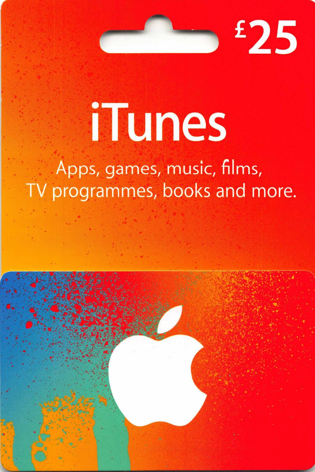 Apple itunes 25gbp gift card for sale online ebay free