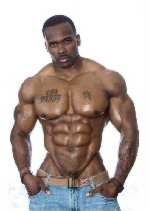 Opinion you Big naked muscle black men