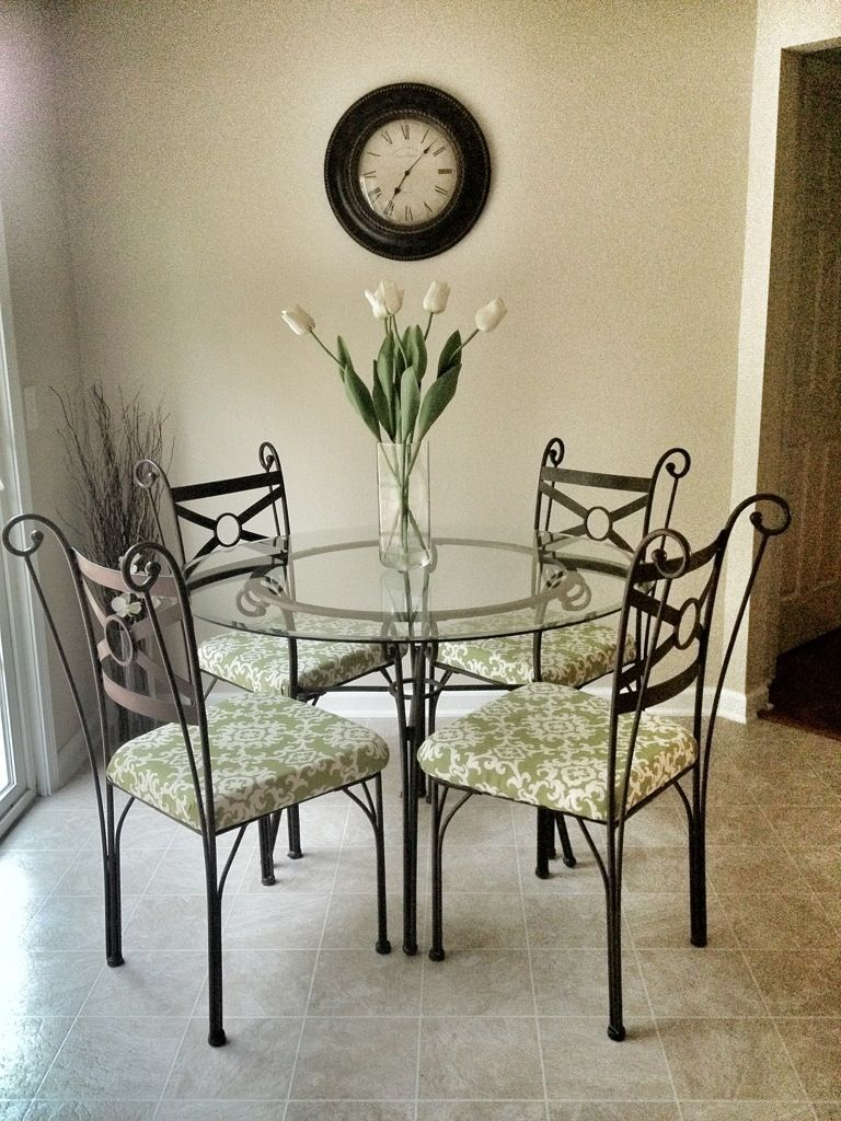 How to reupholster a chair seat metal dining chairs
